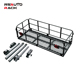 new design funney car accessories install car roof rack hitch mounted motorcycle carrier