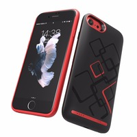 High quality phone power bank cell phone external battery charger case for apple iphone 6/6s/7
