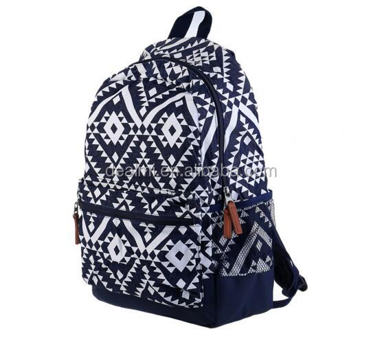 Wholesale Monogrammed Canvas Backpack