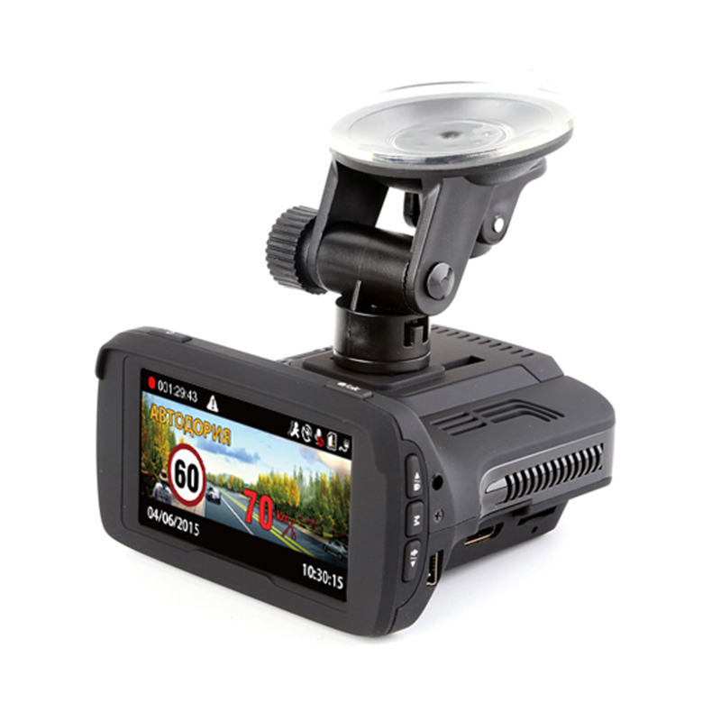 Russland 3 in 1 Auto Radarwarner Laser Geschwindigkeit Kamera Detektoren + Full HD DVR Video Recorder + GPS Nagelneu