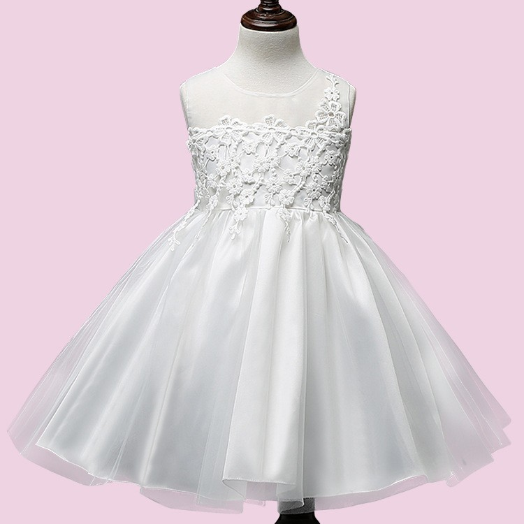 Brand Quality Beautiful Formal Dresses For Baby Girls Little Kid