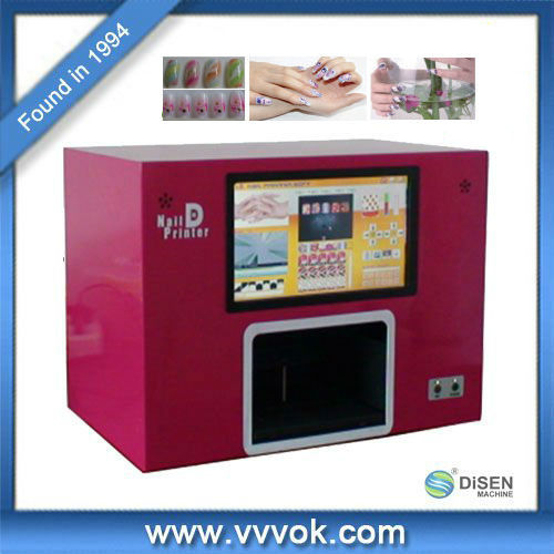 Fingernail tips of Digital Nail d Printer