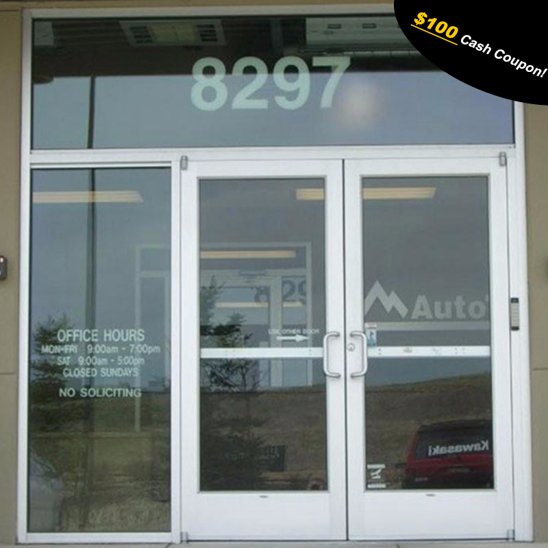 Used Commercial Door Store Front Door Buy Used Commercial Glass