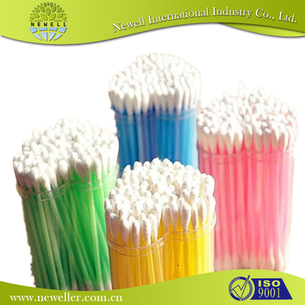 varieties well bulk cotton buds pp box/container for cosmetic