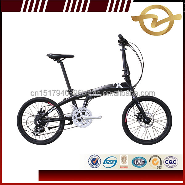 2017 new design 20 inch Alloy folding bike frame folding bicycle in China