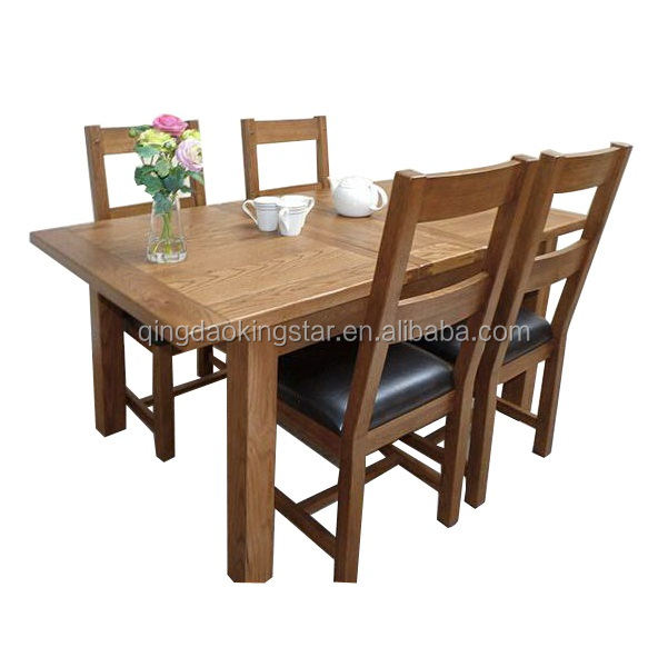 Modern Oak Heavy Duty Dining Table And Chairs Product On Alibaba