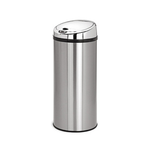 High Quality Stainless steel sensor bins smart 30l trash can automatic opening dustbin