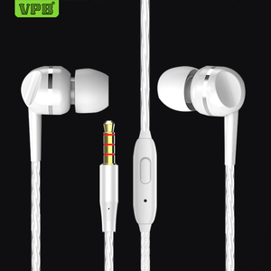 VPB S23 earplugs bass classic headphones computer headphones Male and female general-purpose earphone wholesale.
