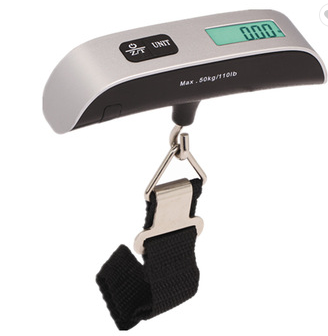 LCD Blue backlight 40kg travel electronic digital luggage scale