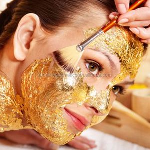 hot sale 99.7% natural private label 24k gold facial mask