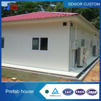 Good insulated Real Estate well designed flat roof prefab house container house complete living prefab small house