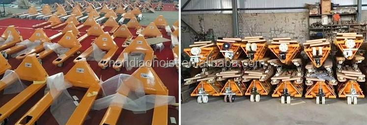 Hydraulic Manual Forklift Hand Pallet Jack 1000kg/1500kg/2000kg Hand Pallet