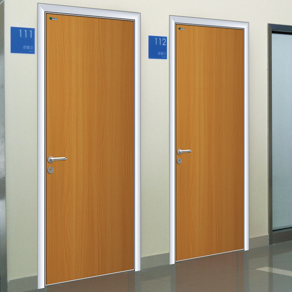 Hospital door laboratory for the