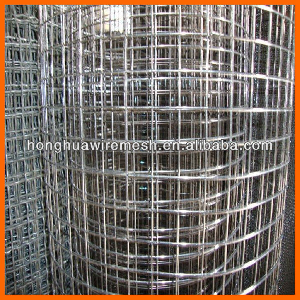 electro galvanised welded net/welded wire mesh