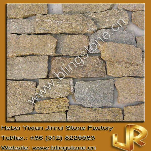 Natural Exterior Stone Wall Tiles Decoration Stone