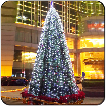 1 years guarantee new style pre lit artificial christmas trees outdoor decorations