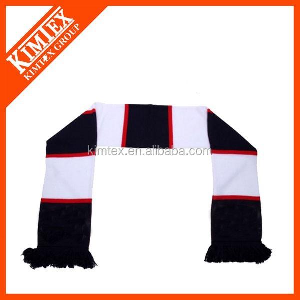 Puede ser la orden de encargo de fútbol bufanda, Soccer deporte bufanda bufandas para equipos