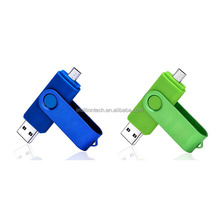 Swivel pen flash drive 16gb Android usb for phone and pc
