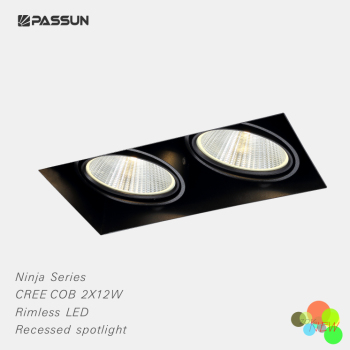 Super quality twin heads recessed spot light modern buy spotlight super quality twin heads recessed spot light modern aloadofball