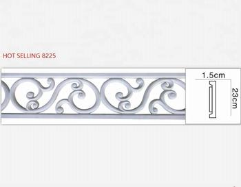 Baru Tiba Pu Dekoratif Panel Plafon Plastik Cornice Moulding Buy