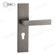 Cheap Hot Sale Aluminum Door Handle Cover Plate With Lever Key Hole