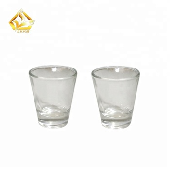 45ml tiny Clear measuring graduated shot glass