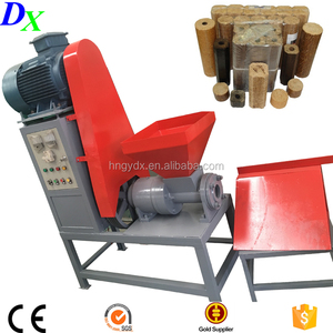 high quality rice husk briquette making machine with agriculture wastes for biomass fuel