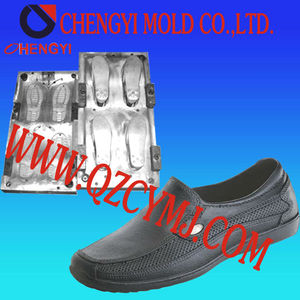 2014 industrial product mould leather direct injection shoe mould