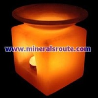 Himalayan Natural Rock Salt Aroma/Perfume Candle Holder/Salt Oil Burner