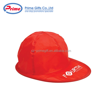 a1536bbdffe Custom Made Polyester Foldable Cap