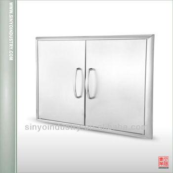 Outdoor stainless steel cabinet doors buy outdoor for Custom stainless steel cabinet doors