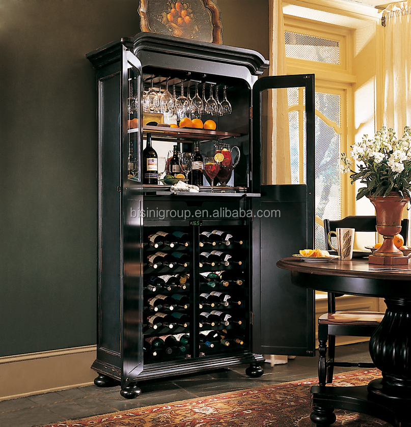 French Style Refrigerated Wine Cabinet