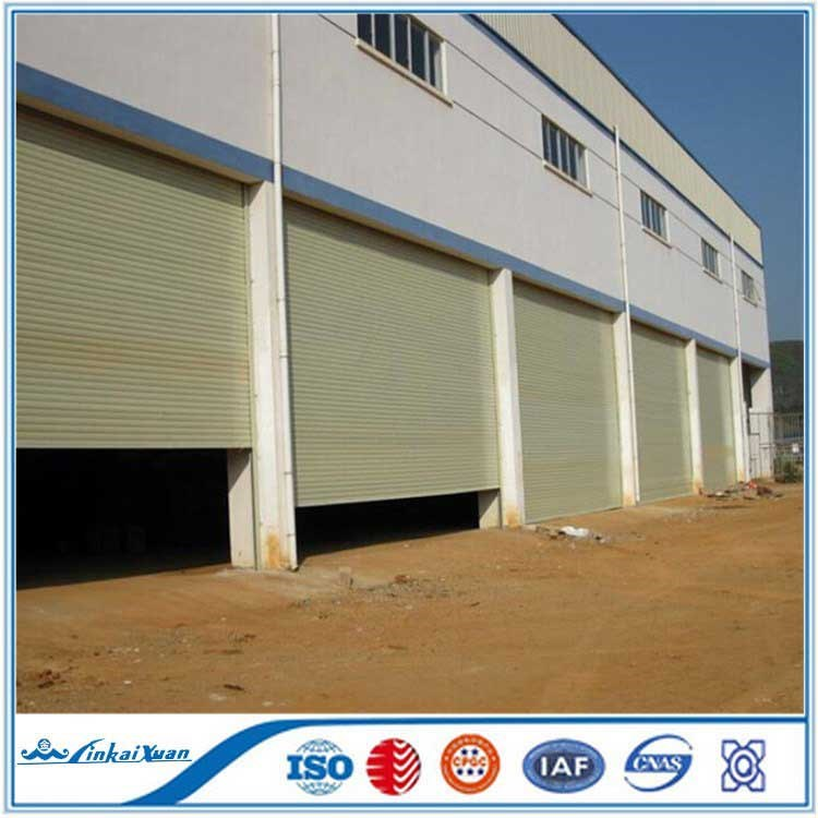 Auto Galvanized cheap steel roller shutter door | Big warehouse use fast rapid factory door
