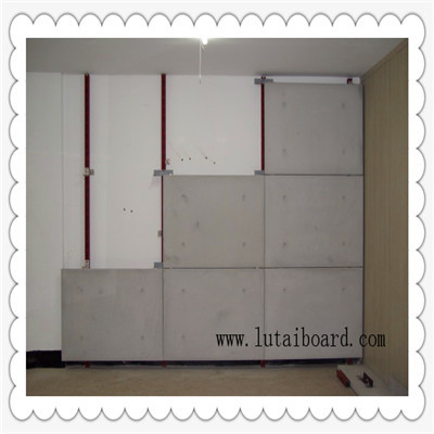 Colored Cement Board Interior Exterior Wall Cladding