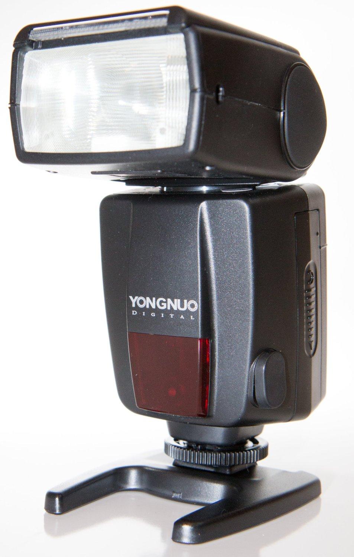 Yongnuo YN468-IIN-USA i-TTL Speedlite Flash for Nikon, GN33, LCD Display, US Warranty (Black)