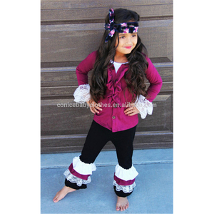 Little girls giggle moon remake outfits wholesale children's boutique clothing fall winter wear girls clothes