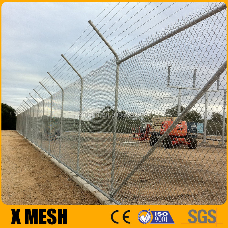 Astm F668 Standard Pvc Coated Chain Link Fence With Posts