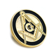 souvenir metal gift luxury custom masonic lapel pin