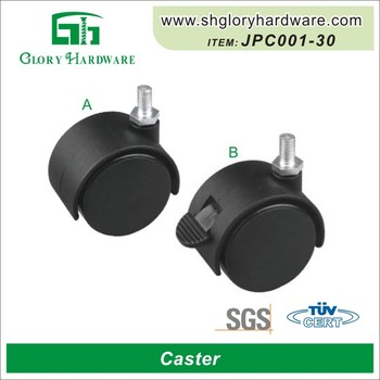 China New Design Cabinet High Quality Industrial 10Mm Furniture Casters Wheels