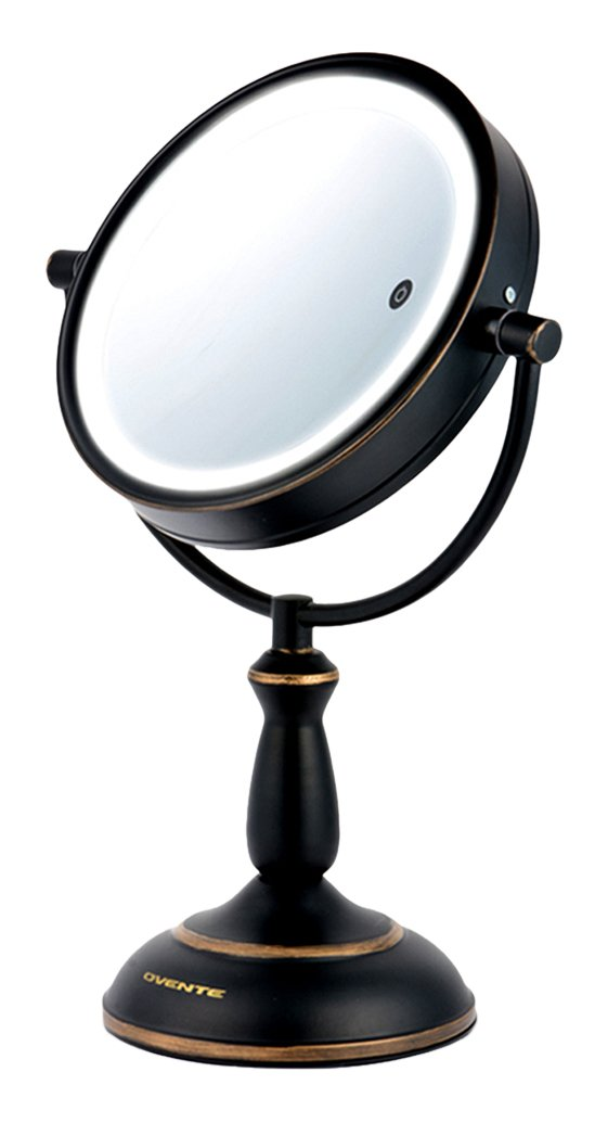 Buy Ovente 1x 10x Dimmable Dual Sided Lighted Wall Mirror