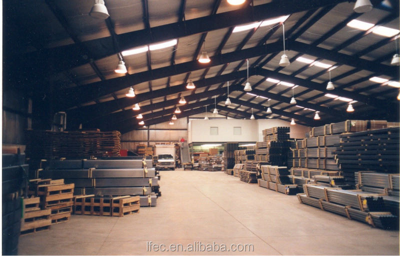 Steel Beam Construction Arched Roof Truss For Steel Workshop