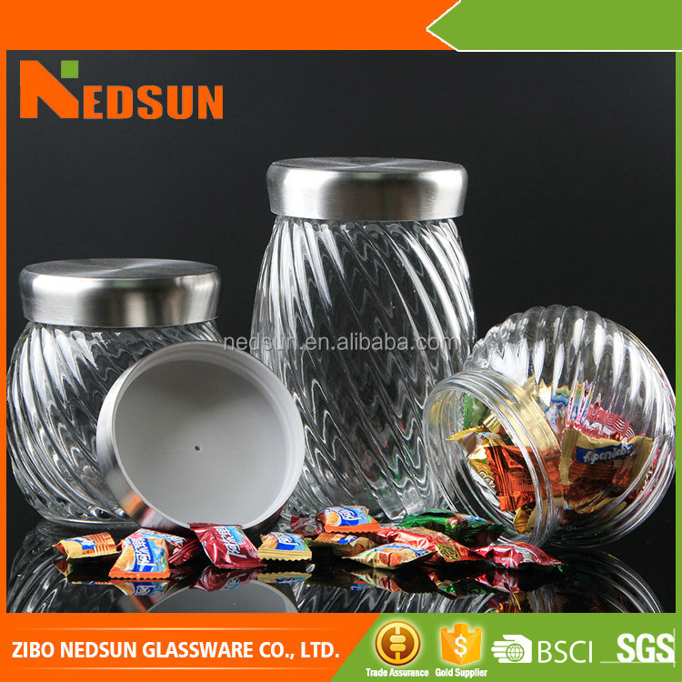 Custom factory manufacture wedding favors candy jar