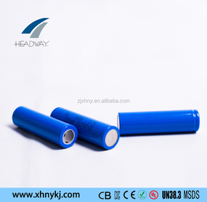 Headway lithium ion lifepo4 li-ion battery ifr18650 3.2V 1.4AH cell for miners' lamp