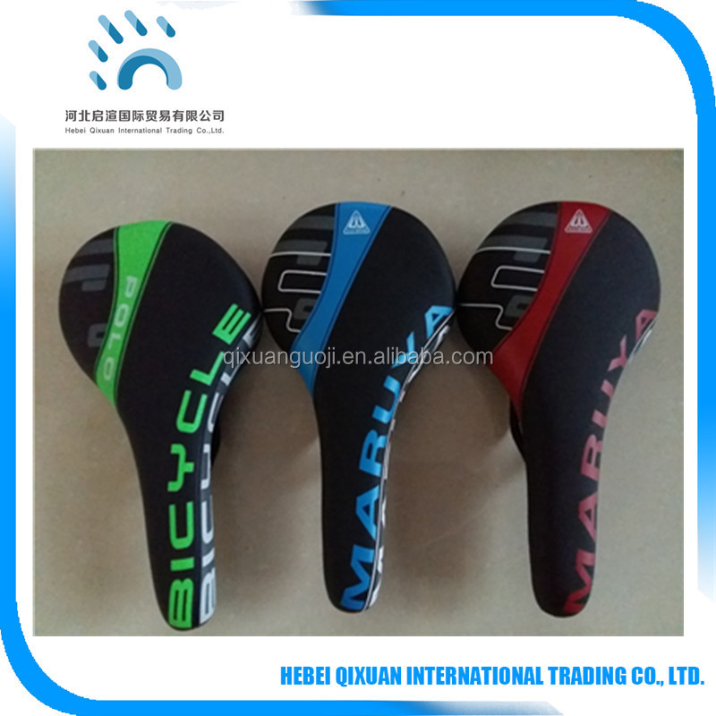 High quality imitation leather bicycle seat waterproof racing bicycle seat