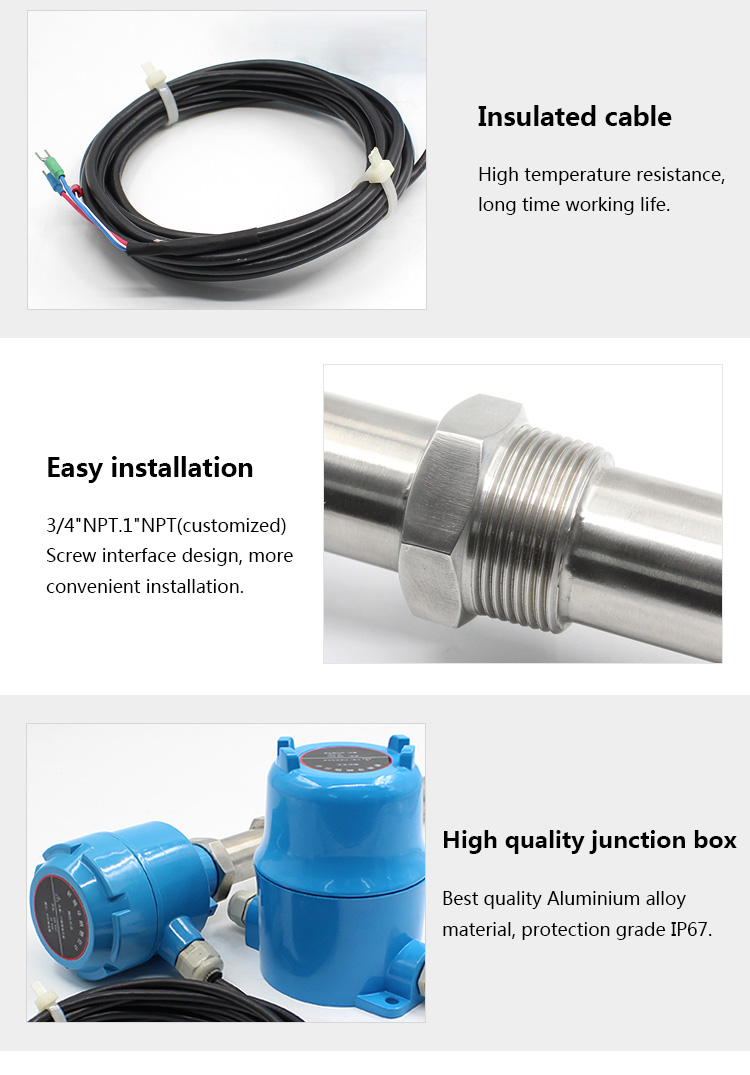 split type Al alloy junction box high temperature RF admittance level switch