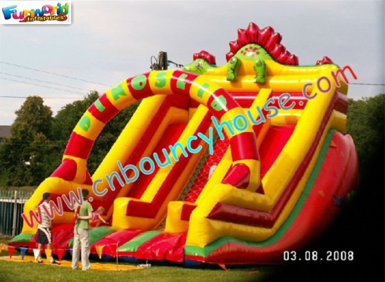 Fantasy slide inflatable games for kids park slide inflatable games
