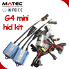 Mini Matec xenon hid Kit h4 high low H4-3 Hi/Lo car Bi xenon hid kits, 35w Hi Lo Beam Lamp for hond a accord