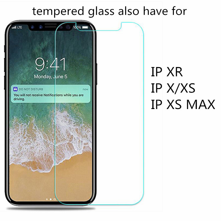 Wholesale 9H Premium Mobile Tempered Glass For Iphone X Xs Max XR 11 12 Pro SE 2020 Screen Protector Tempered Glass