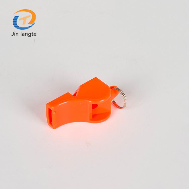 Customized promotional sport referee whistle plastic emergency whistle