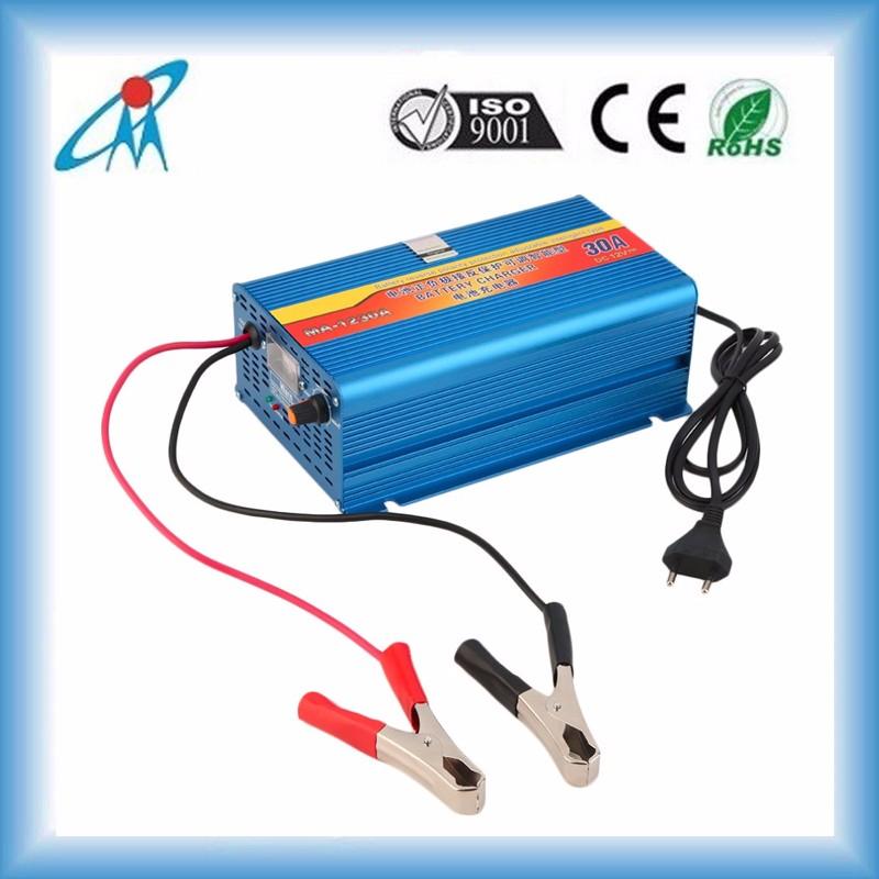 Portable Electric Car Battery Charger Lead Acid Battery 110v220v ...